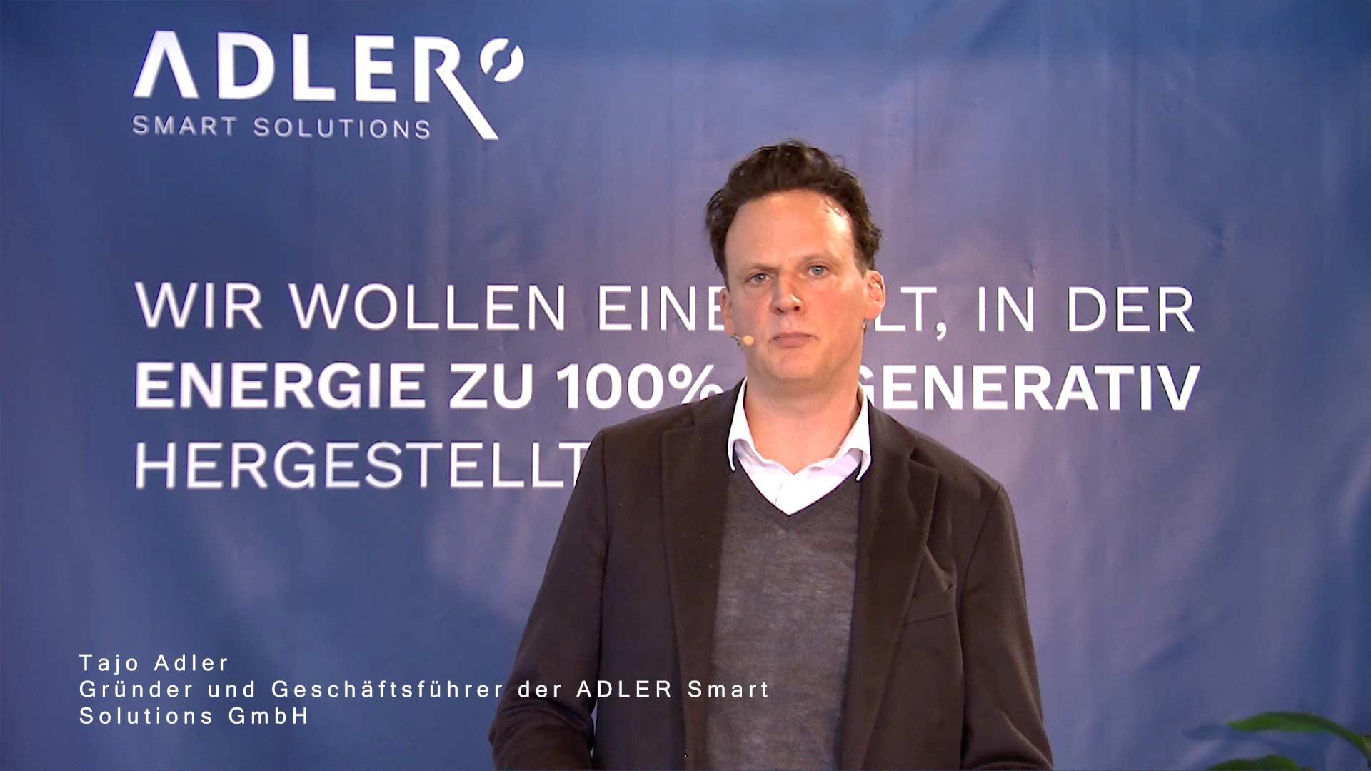 """Tajo Adler über: """"Die Tankstelle der Zukunft"""""""