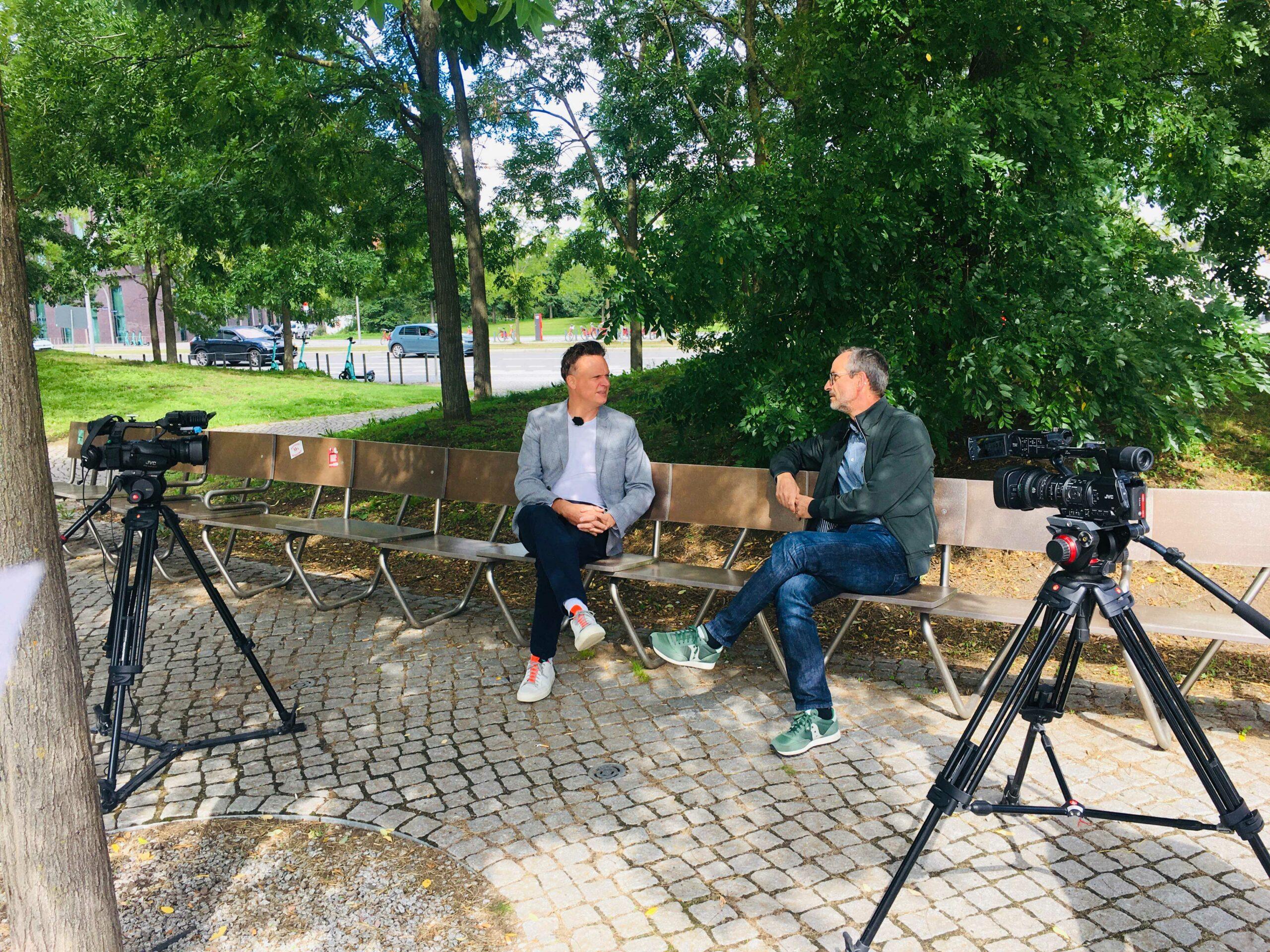 Tajo Adler im Interview mit Hamburg 1